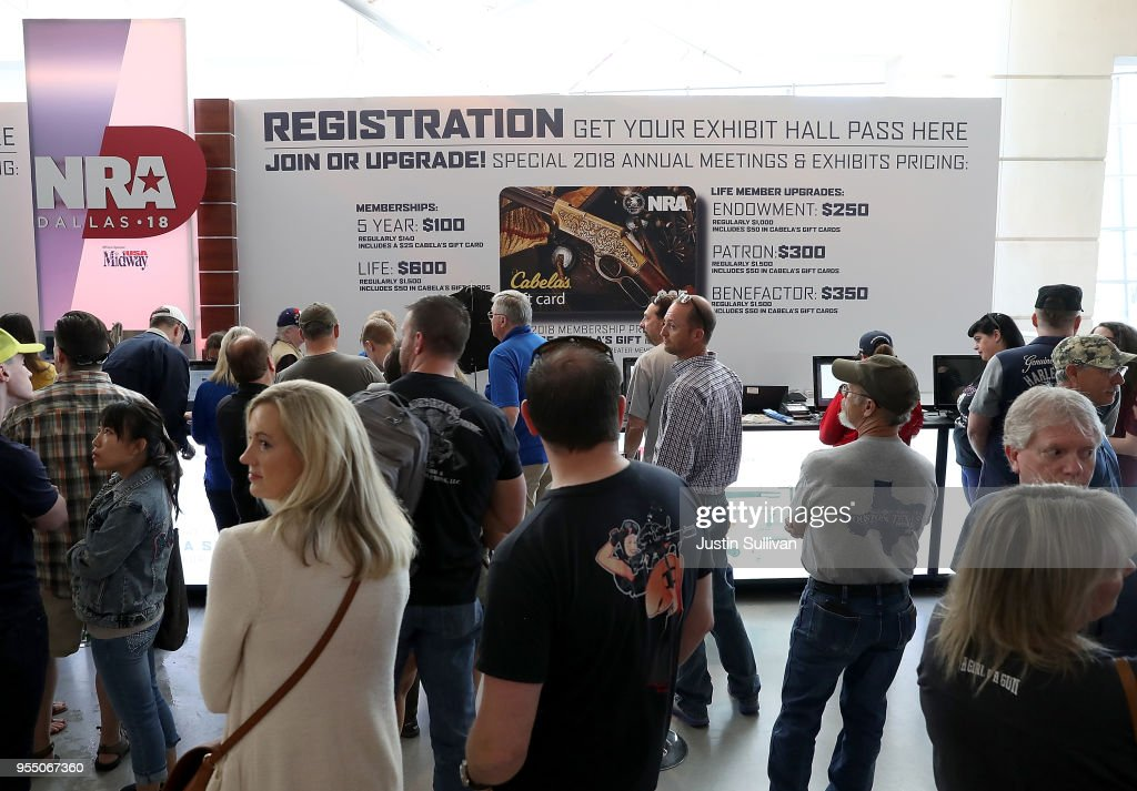 National Rifle Association Holds Its Annual Conference In Dallas, Texas : News Photo