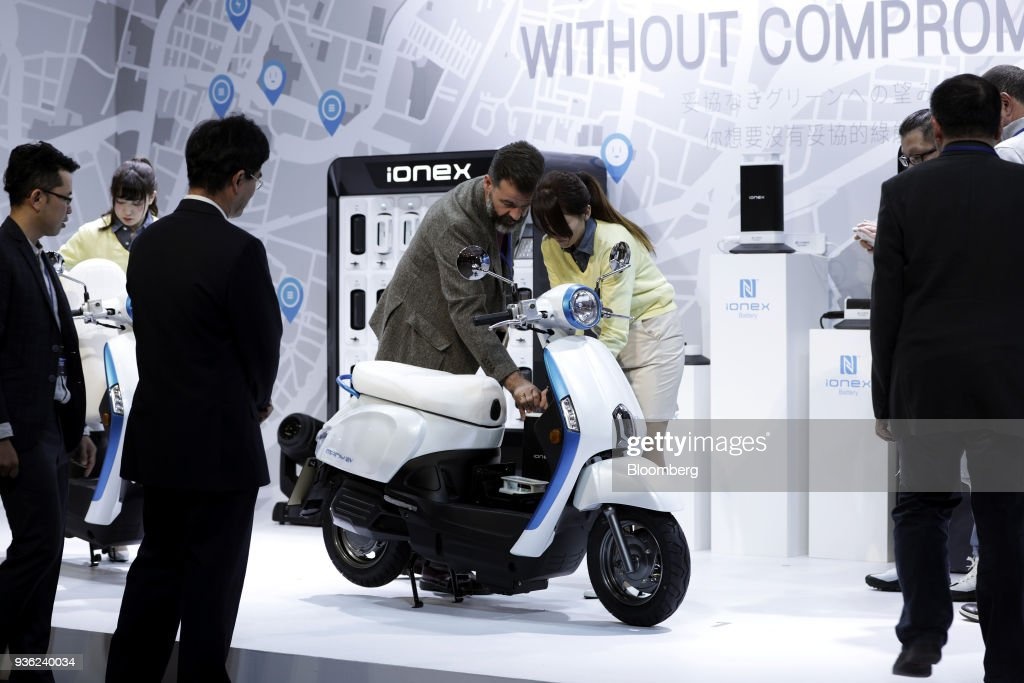 Kymco Unveils The Ionex Electric Motorcycle