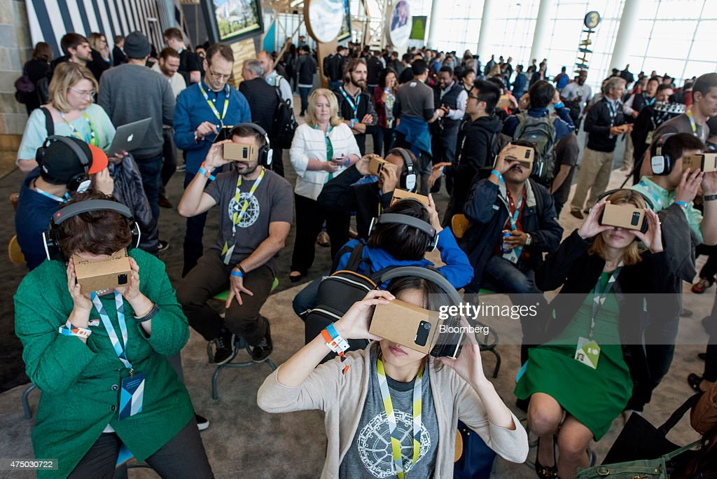 Inside The Google I/O Developers Conference : News Photo
