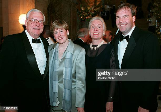 Attendees of the Boston Public Library Gala May 16 1997 included Bill Crozier of Wellesley with daughter Kelly Crozier Prudence Crozier she...