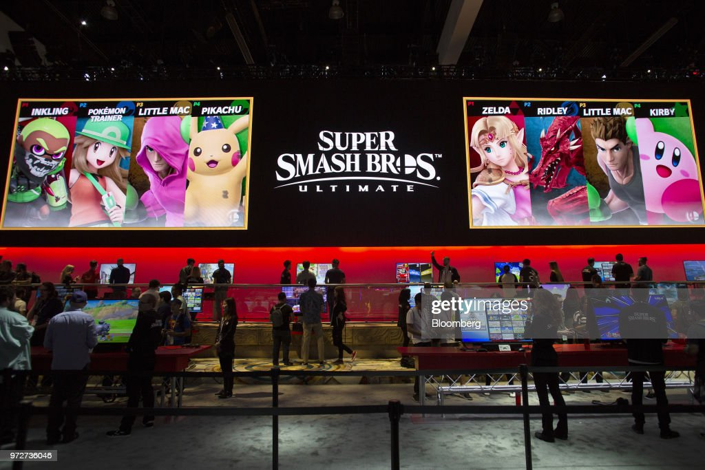Inside The 2018 E3 Electronic Entertainment Expo : News Photo