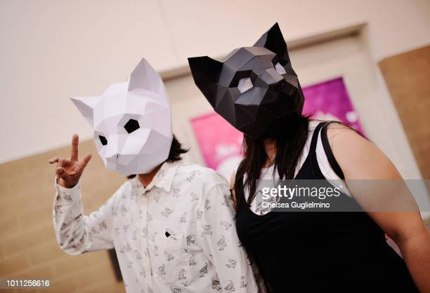 Attendees seen at CatCon Worldwide 2018 at Pasadena Convention Center on August 4 2018 in Pasadena California