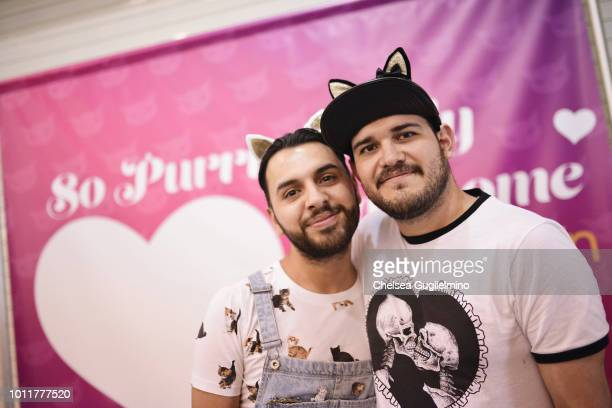 Attendees seen at CatCon Worldwide 2018 at Pasadena Convention Center on August 5 2018 in Pasadena California
