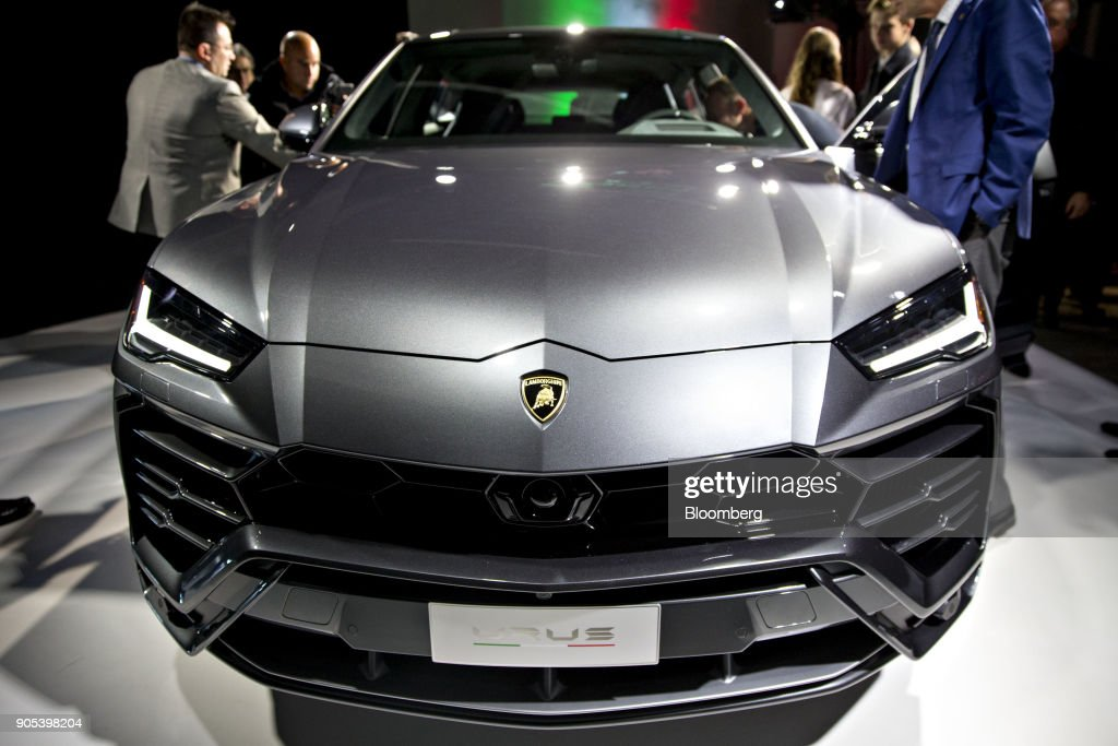 Automobili Lamborghini SpA Urus Reveal During The 2018 North American International Auto Show