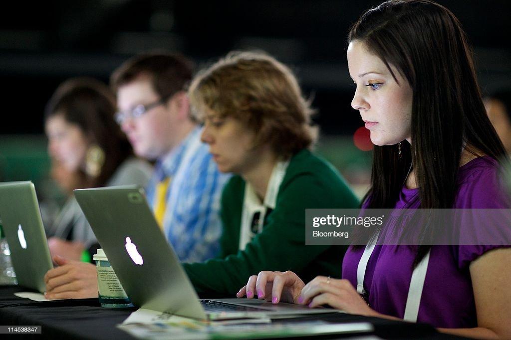 TechCrunch Disrupt Conference : News Photo