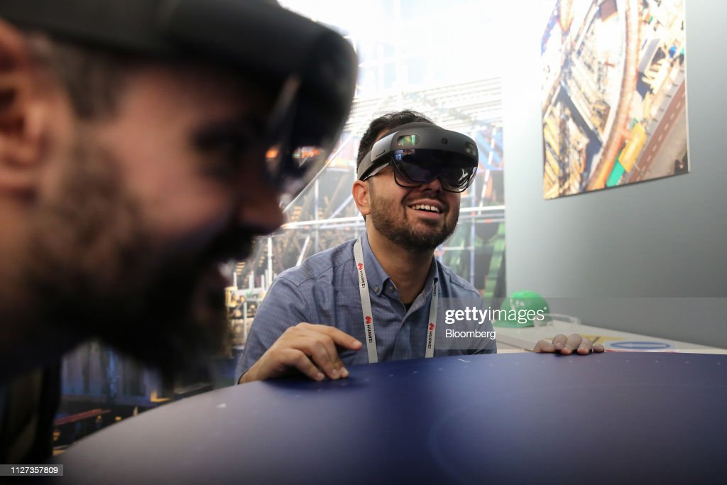 Opening Day Of MWC Barcelona 2019 : News Photo