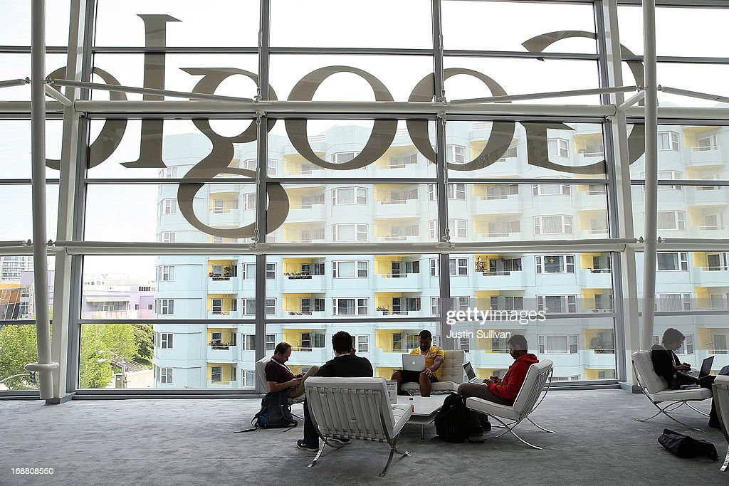 Google Developers Event Held In San Francisco : News Photo