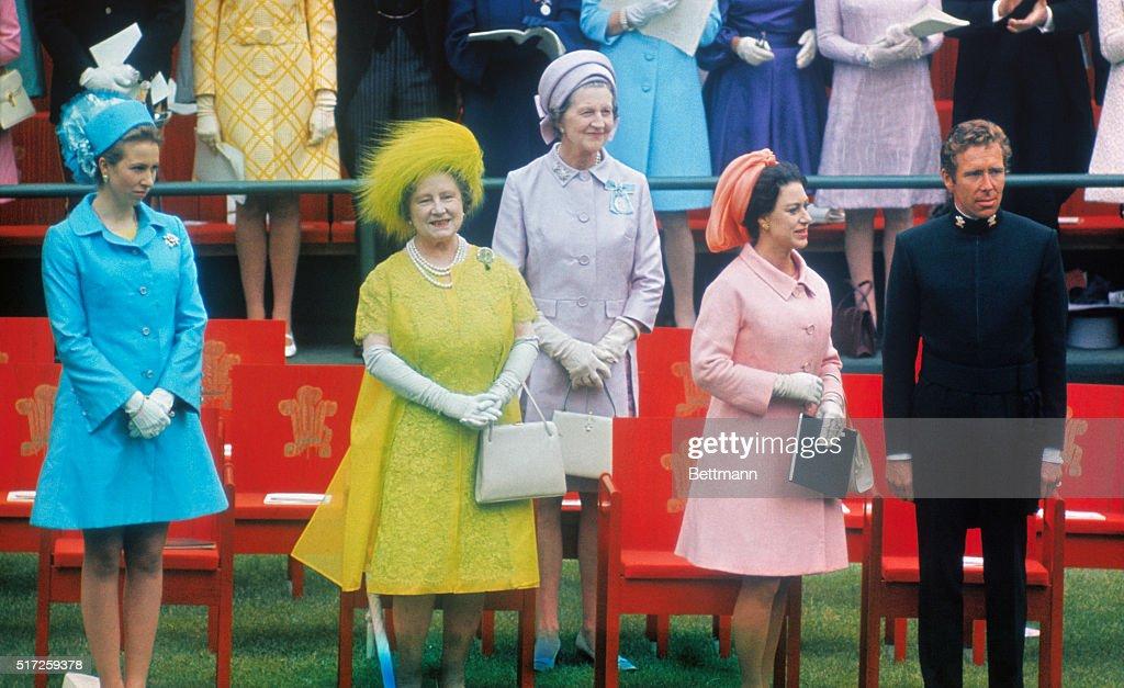 Prince Charles' Investiture : News Photo