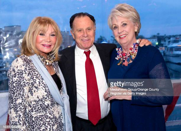 Attending the benefit at the Cannery restaurant in Newport Beach for RISE a program under the Gary Sinise Foundation are from left Darlene Salisbury...