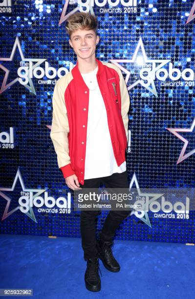HRVY attending the Global Awards a brand new awards show hosted by Global the Media and Entertainment group at London's Eventim Apollo Hammersmith...