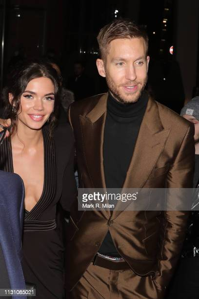 attending the Sony BRITS 2019 After Party at Aquashard on February 20 2019 in London England