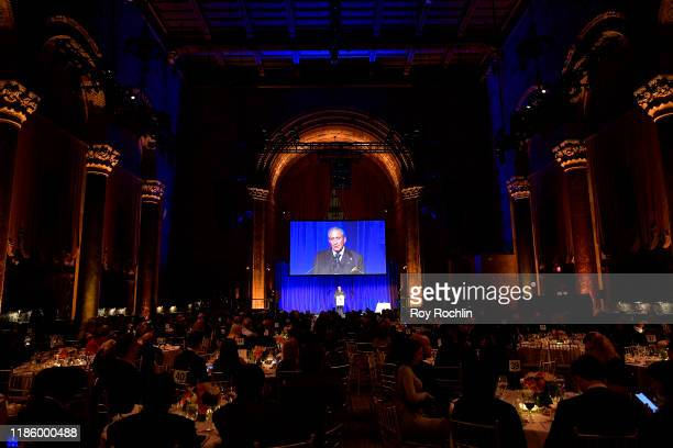 attends 2019 Mount Sinai Prostate Cancer Research Gala at Cipriani 42nd Street on November 06 2019 in New York City