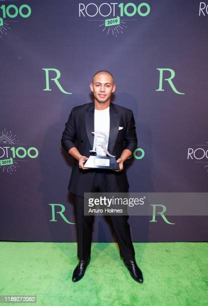 attends 2019 ROOT 100 Gala at The Angel Orensanz Foundation on November 21 2019 in New York City