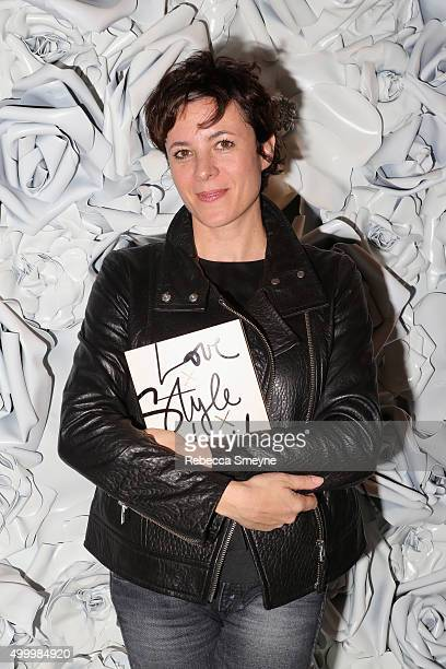 attends a cocktail party to celebrate the launch of Garance Dore's book 'Love X Style X Life' at the Club Monaco boutique on December 4 2015 in Miami...