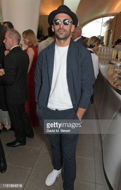 Attends a drinks reception ahead of The Summer Party 2019, presented by Serpentine Galleries & Chanel, and hosted by Michael R. Bloomberg, Hans...
