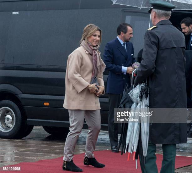 Princess Martha Louise of Norway attends a lunch on the Royal yacht Norge on the occasion of the celebration of King Harald and Queen Sonja of Norway...