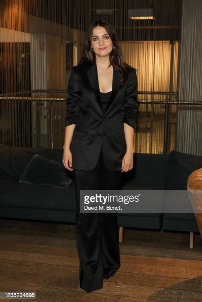 """Attends a preview screening of """"Sweetheart"""" at the BFI Southbank on September 13, 2021 in London, England."""
