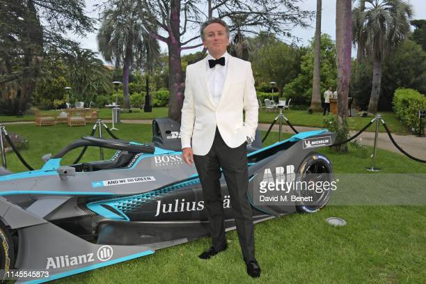 attends a private dinner hosted by Alejandro Agag to celebrate the World Premiere of Formula E documentary And We Go Green during the 72nd Annual...