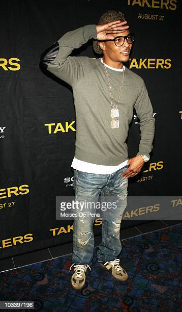 I attends a special screening of 'Takers' at Regal EWalk on August 15 2010 in New York City