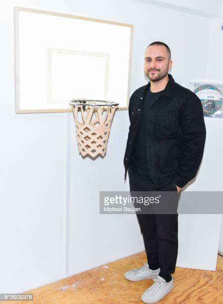 KILLSPENCER attends Amare Stoudemire hosts ART OF THE GAME art show presented by Sotheby's and Joseph Gross Gallery on February 15 2018 in Los...