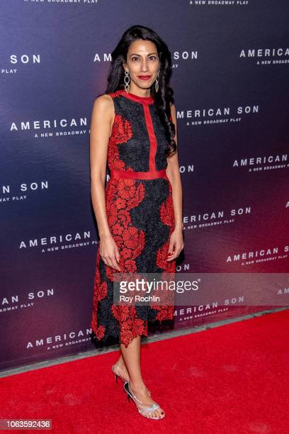 attends American Son opening night at Booth Theatre on November 04 2018 in New York City
