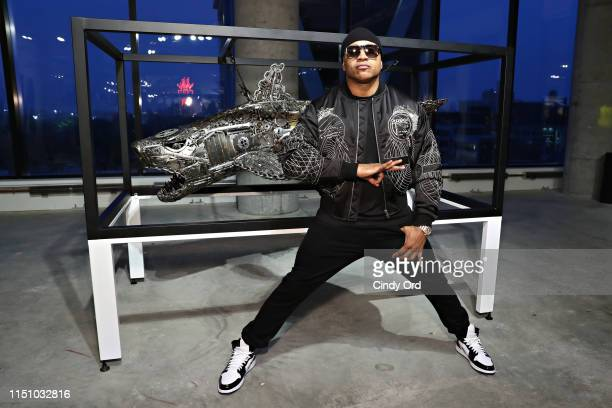 J attends as Roger Gastman and LL COOL J host BEYOND THE STREETS opening night at 25 Kent on June 19 2019 in New York City