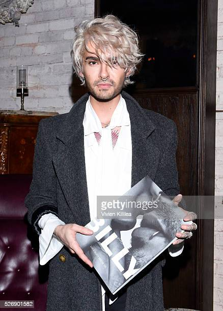 attends BILLY Love Don't Break Me Art Exhibit book launch and shortfilm screening on April 29 2016 in Los Angeles California