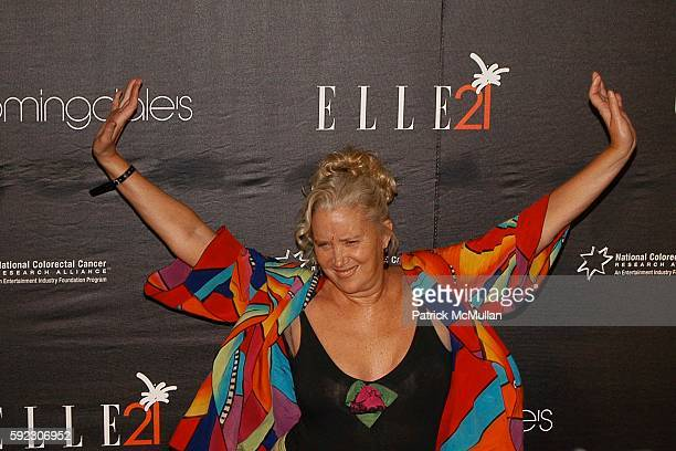 attends Elle and Bloomingdale's celebrate the magazine's 21st birthday with a VIP bash benefiting EIF's National Colorectal Cancer Research Alliance...