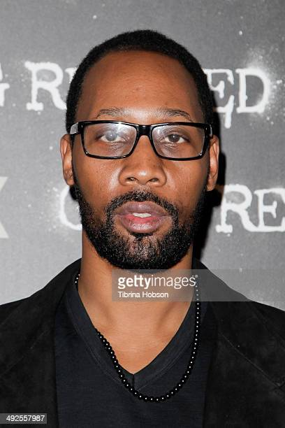 RZA attends FOX's new series 'Gang Related' special screening at Petersen Automotive Museum on May 20 2014 in Los Angeles California