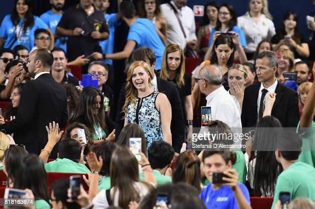 attends Giffoni Film Festival 2017 on July 18 2017 in Giffoni Valle Piana Italy