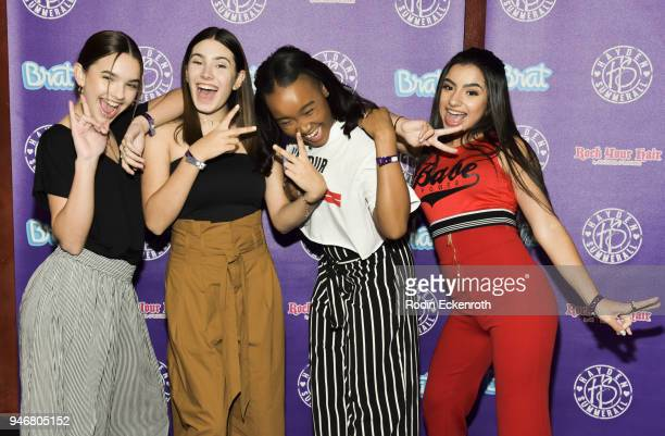 L2M attends Hayden Summerall's 13th Birthday Bash at Bardot on April 15 2018 in Hollywood California