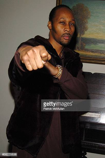RZA attends HBO's Annual PreGolden Globes Party hosted by Colin Callender Chris Albrecht and Carolyn Strauss at Chateau Marmont on January 14 2006 in...