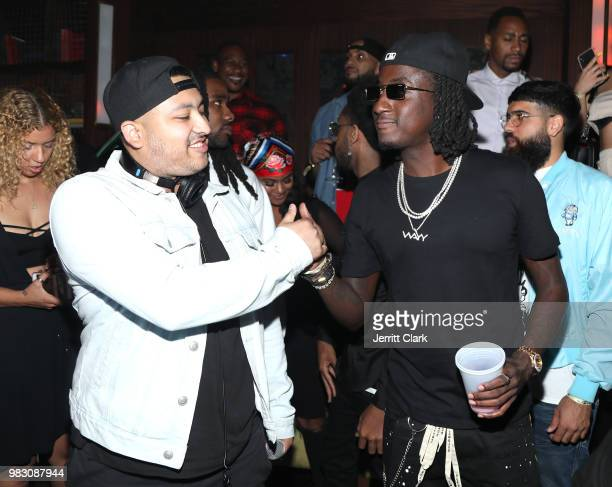attends IGA X BET Awards Party 2018 on June 23 2018 in Los Angeles California