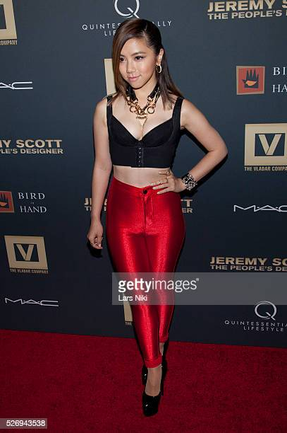 GEM attends Jeremy Scott The' People's Designer New York premiere at the Paris Theatre in New York City �� LAN