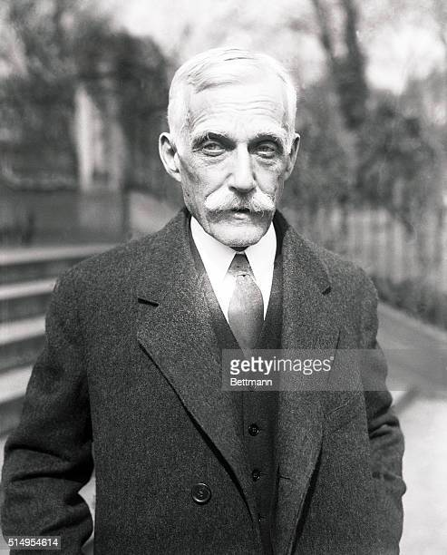 Attends last Cabinet meeting of the Coolidge Administration...Andrew Mellon, Secretary of Treasury, who is assured to be in the new Cabinet, poses...