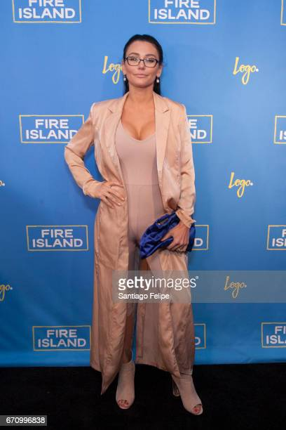 JWOWW attends Logo TV Fire Island Premiere Party at Atlas Social Club on April 20 2017 in New York City