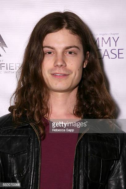 BORNS attends Los Angeles GRAMMY Showcase at The Fonda Theatre on May 17 2016 in Los Angeles California
