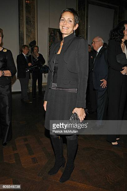 attends Madame Jacques Chirac Madame Georges Pompidou Mr Ronald Lauder and Mrs Randolph Hearst Host a Private Dinner to Benefit THE AMERICAN FRIENDS...
