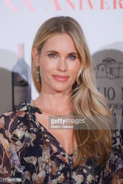 attends Malleolus by Emilio Toro Wineries 20th anniversary party on October 01 2019 in Madrid Spain