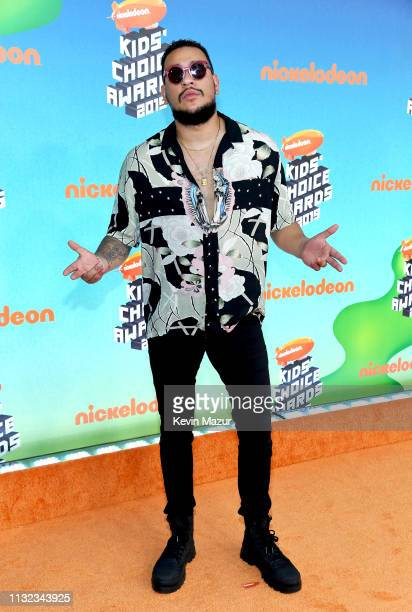 AKA attends Nickelodeon's 2019 Kids' Choice Awards at Galen Center on March 23 2019 in Los Angeles California