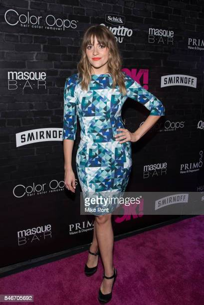 BELLSAINT attends OK Magazine's Fall Fashion Week 2017 Event at Hudson Hotel on September 13 2017 in New York City