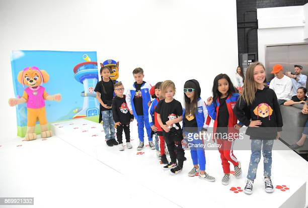 Attends prerelease party and fashion show for Nickelodeon's PAW Patrol collaboration with Haus of JR on October 22, 2017 in Los Angeles, California.