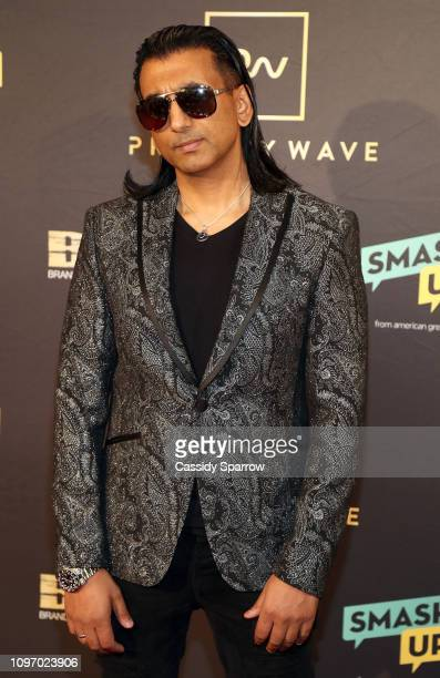 J2 attends Primary Wave 13th Annual PreGRAMMY Bash at The London West Hollywood on February 9 2019 in West Hollywood California