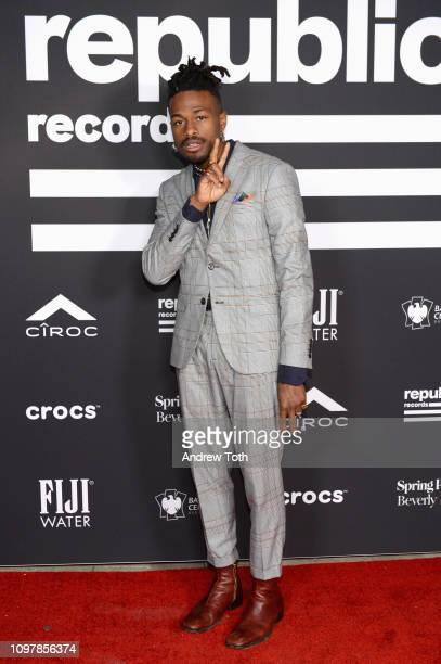 DUCKWRTH attends Republic Records Grammy after party at Spring Place Beverly Hills on February 10 2019 in Beverly Hills California