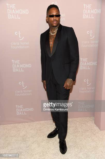 YG attends Rihanna's 4th Annual Diamond Ball benefitting The Clara Lionel Foundation at Cipriani Wall Street on September 13 2018 in New York City