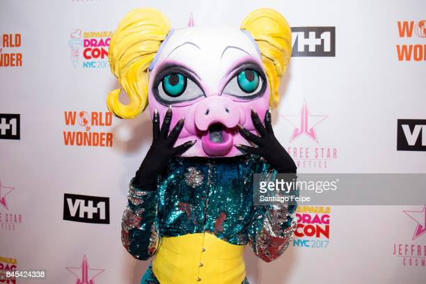 QWERRRK attends RuPaul's DragCon NYC 2017 at The Jacob K Javits Convention Center on September 10 2017 in New York City
