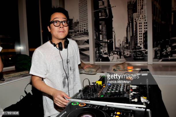 DJ attends Seaport Museum New York Presents Everybody Street by Cheryl Dunn and Alfred Stieglitz New York at Seaport Museum on September 14 2010 in...
