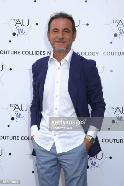 attends Sfilata AU197SM AltaRoma on June 29 2018 in Rome Italy
