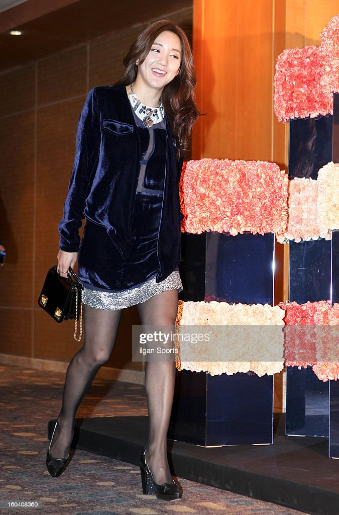 VADA attends Sun's Wedding at lotte hotel on January 26, 2013 in Seoul, South Korea.