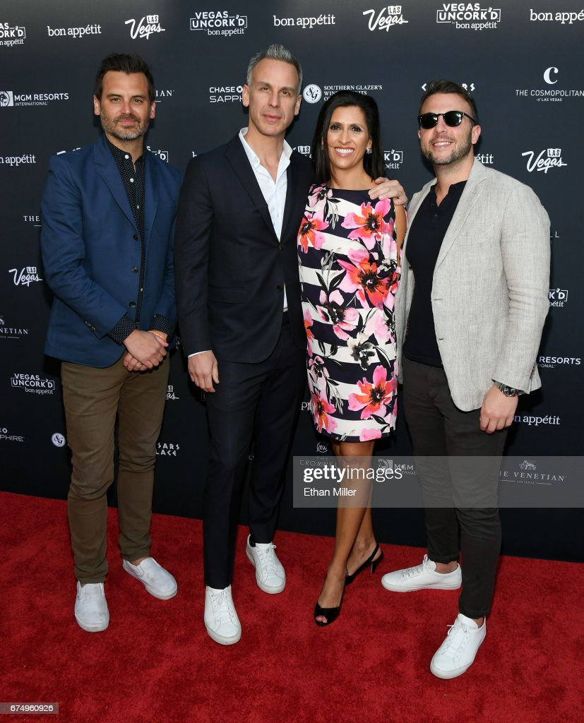 Celebrity Chefs Light Up The Strip During Vegas Uncork'd By Bon Appetit's 11th Annual Grand Tasting At Caesars Palace : News Photo